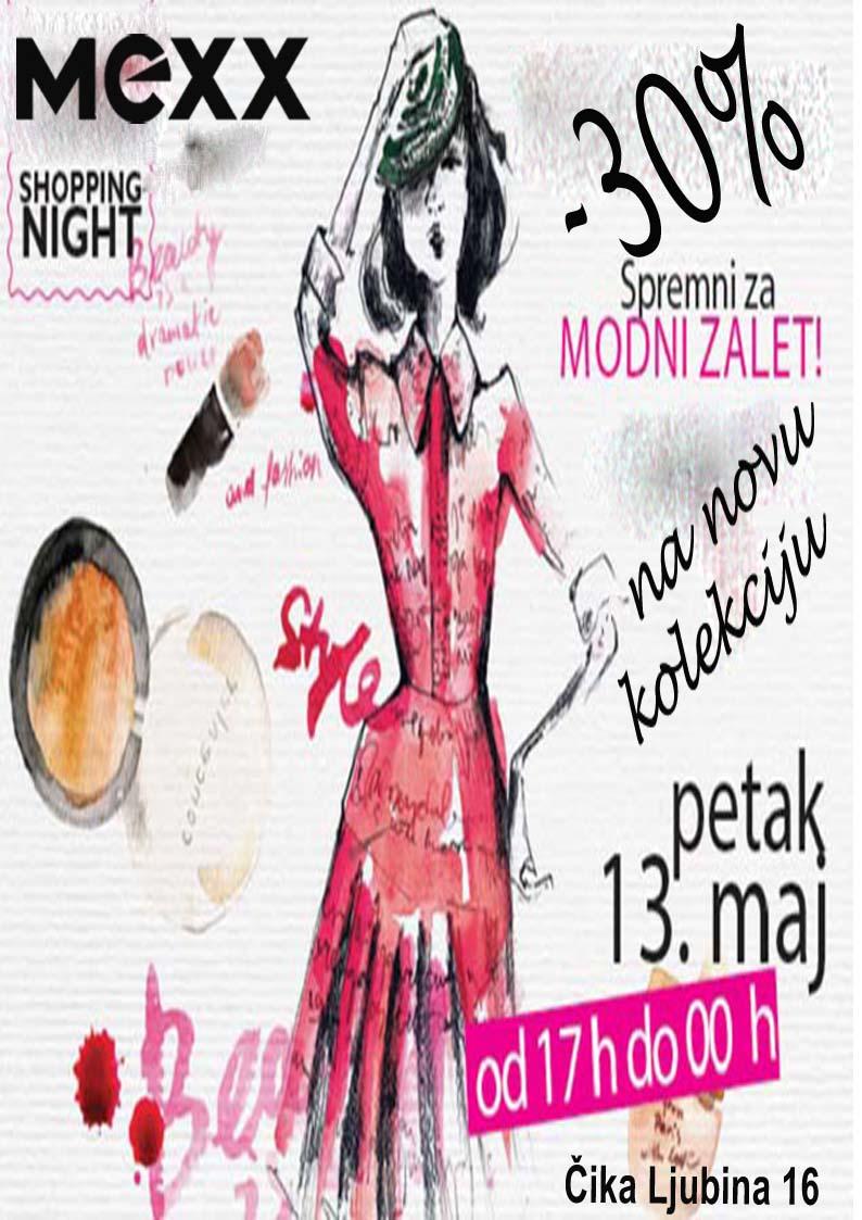 Grazia shopping night 13.05